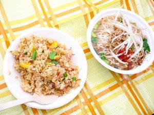 長城菜館 台湾ラーメンと炒飯