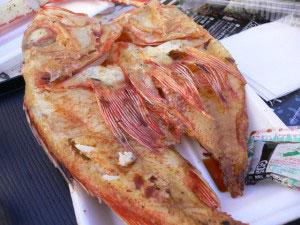 さっぽろオータムフェスト2009焼き魚