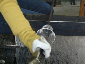 glass cafe gla_gla グラス作り体験2010
