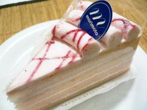 もりもとのとろける苺ミルク