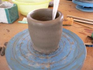 新十津川陶芸祭り2009年陶芸体験