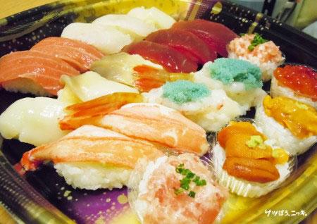 屋台家の年越し寿司