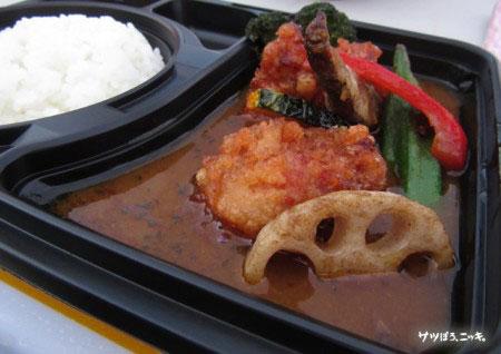 RSR 2014 SAMURAIのザンギと野菜のスープカレー