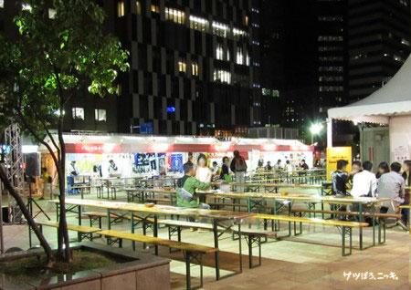 オータムフェスト2014サツエキ会場