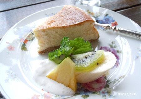 ティーショップ夕日 ケーキ