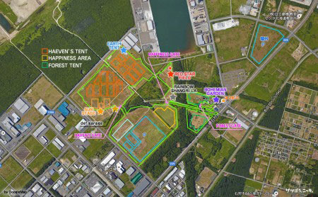 RSR 2016 MAP in google Map
