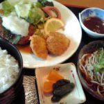 北村温泉の昼食