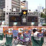 札幌駅南口広場 サマーフェスタビアガーデン2012