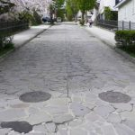 函館元町 ハリストス正教会の近くの坂