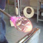 ケーズブローニングのグラス作り体験