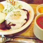 オーガニックスープ コロンボのハンバーグセット