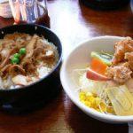 鶏の伊藤の鶏めし定食