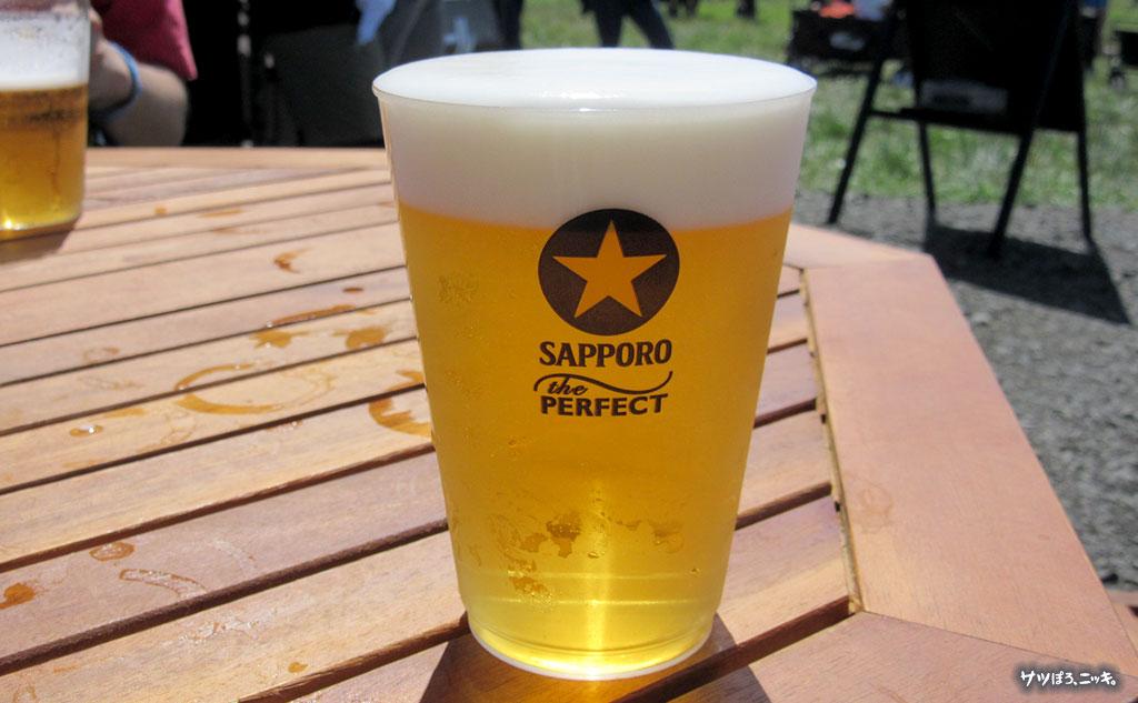 RSR2019 サッポロビールブース